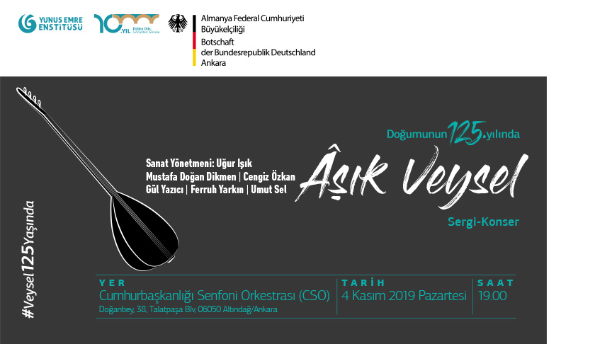A Photography Exhibition and a Concert in Commemoration of the 125th Anniversary of the Birth of Aşık Veysel