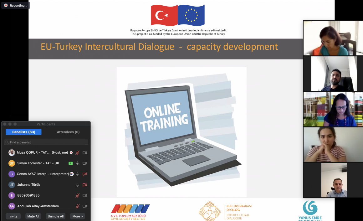 Intercultural Dialogue Digital Training is Starting!
